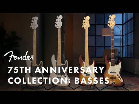 Fender 75th Anniversary Precision Bass w/Gigbag - Diamond Anniversary