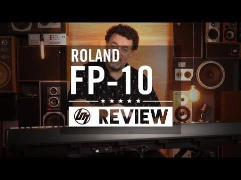 Roland FP-10 Portable Digital Piano - Black (FP10)