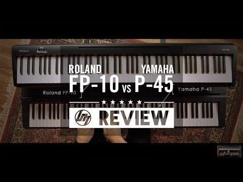 Yamaha P45 Portable Piano - Black (P-45)
