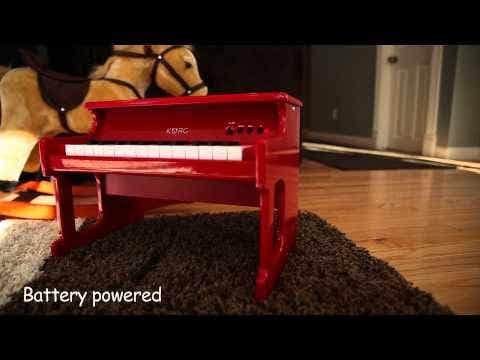 Korg tinyPIANO Mini Upright Style Piano - Red