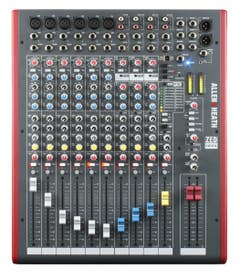 Allen and Heath ZED12FX mixer