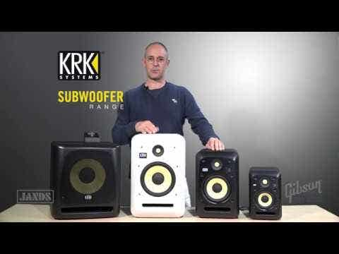 KRK 12sHO High-Output Active Studio Subwoofer