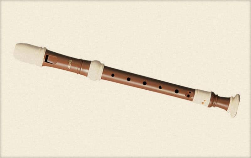 AULOS Descant/Soprano Recorder Brown AU703B (AU703B)