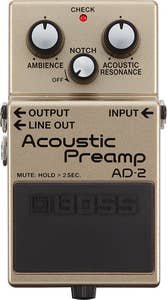 Boss AD-2 Acoustic Preamp Pedal (AD2)