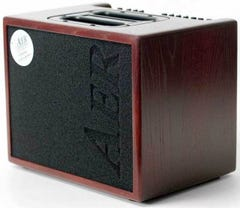 AER Compact 60 Acoustic Guitar Amp - Stained Oak