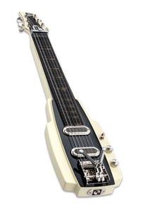 Duesenberg Alamo Electric Slide Guitar w/Case - Ivory