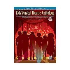 kids musical theatre anthology bk/cd / various (alfred)