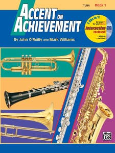 ACCENT ON ACHIEVEMENT BOOK 1 TUBA / OREILLY WILLIAMS (ALFRED)