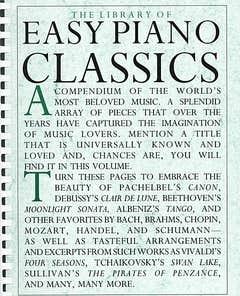 Library of Easy Piano Classics (Hal Leonard)