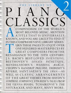 LIBRARY OF PIANO CLASSICS BK 2 /  (MUSIC SALES)