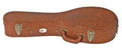 Xtreme HC3085 A-Style Mandolin Case - Brown Croc Vinyl