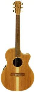 Cole Clark CCAN2EC-BLBL Acoustic Electric Guitar w/Case - Blackwood