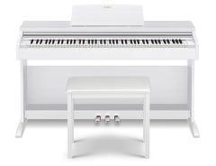 Casio AP270WE Celviano Digital Piano w/Matching Bench - White