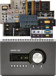 Universal Audio APOLLO X4 Thunderbolt 3 Audio Interface w/UAD-2 QUAD Core Processing - Heritage Edition