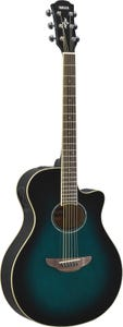 Yamaha APX600 Thinline Acoustic Electric Guitar - Oriental Blue Burst