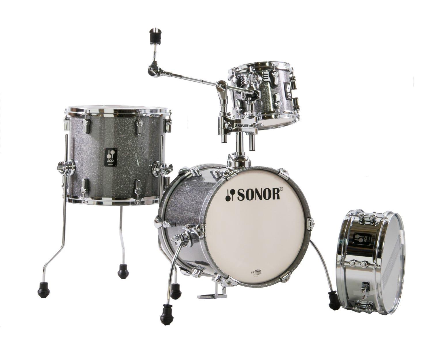 Sonor Martini AQ2 All-Maple Drum Shell Pack - Titanium Quartz