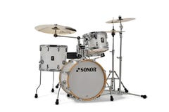 Sonor Bop AQ2 All-Maple Drum Shell Pack - White Pearl