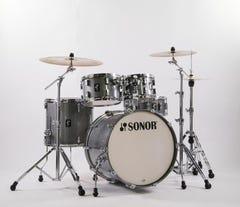 Sonor Stage AQ2 5pc Drum Kit w/Hardware - Titanium Quartz