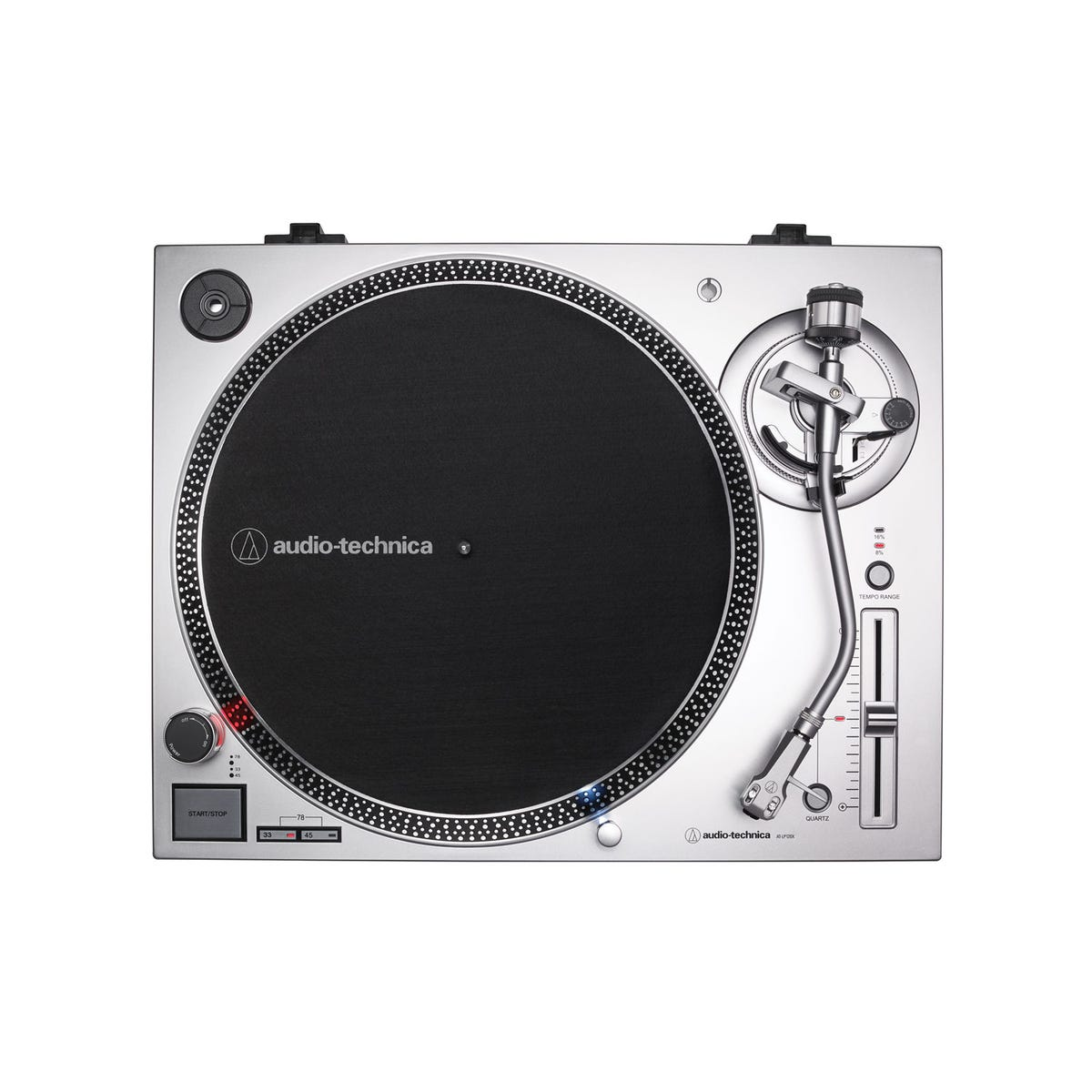 Audio Technica LP120xUSB Direct-Drive Turntable w/USB - Silver