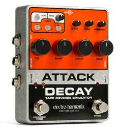 Electro Harmonix Attack Decay Tape Reverse Simulator Pedal