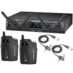 Audio Technica ATW-1311/L KIT Dual Lavalier Wireless System