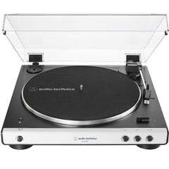 Audio Technica LP60XBT Fully Automatic Belt-Drive Stereo Turntable w/Bluetooth - White