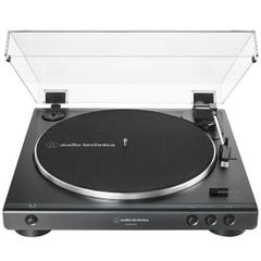 Audio Technica LP60X Fully Automatic Belt-Drive Stereo Turntable - Black