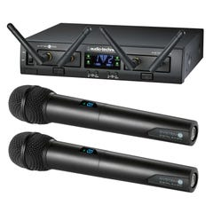 Audio Technica ATW-1322 Dual Handheld Wireless Mic System
