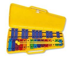 Angel AX25N Glockenspiel w/Coloured Bars
