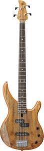 Yamaha TRBX174EW Exotic Wood Bass Guitar - Trans Natural