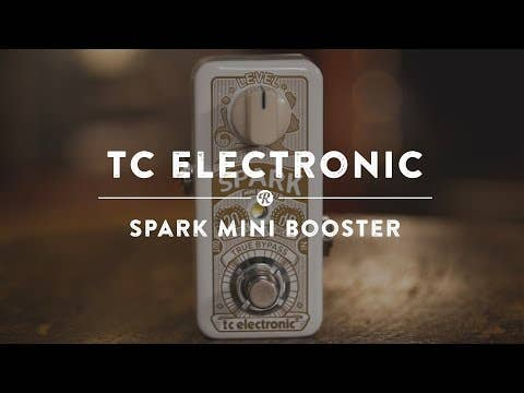 TC Electronic Spark MINI Booster Clean Boost Pedal