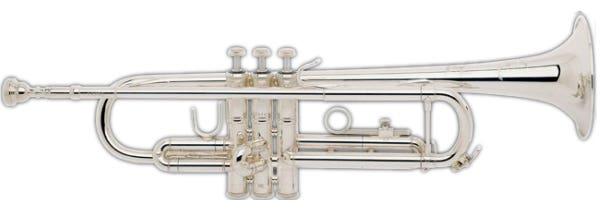 Bach TR200S Intermediate Trumpet - Silver plated (BATR-200S)