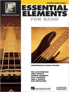 essential elements for band Book 1 for Bass Guitar (HAL LEONARD)