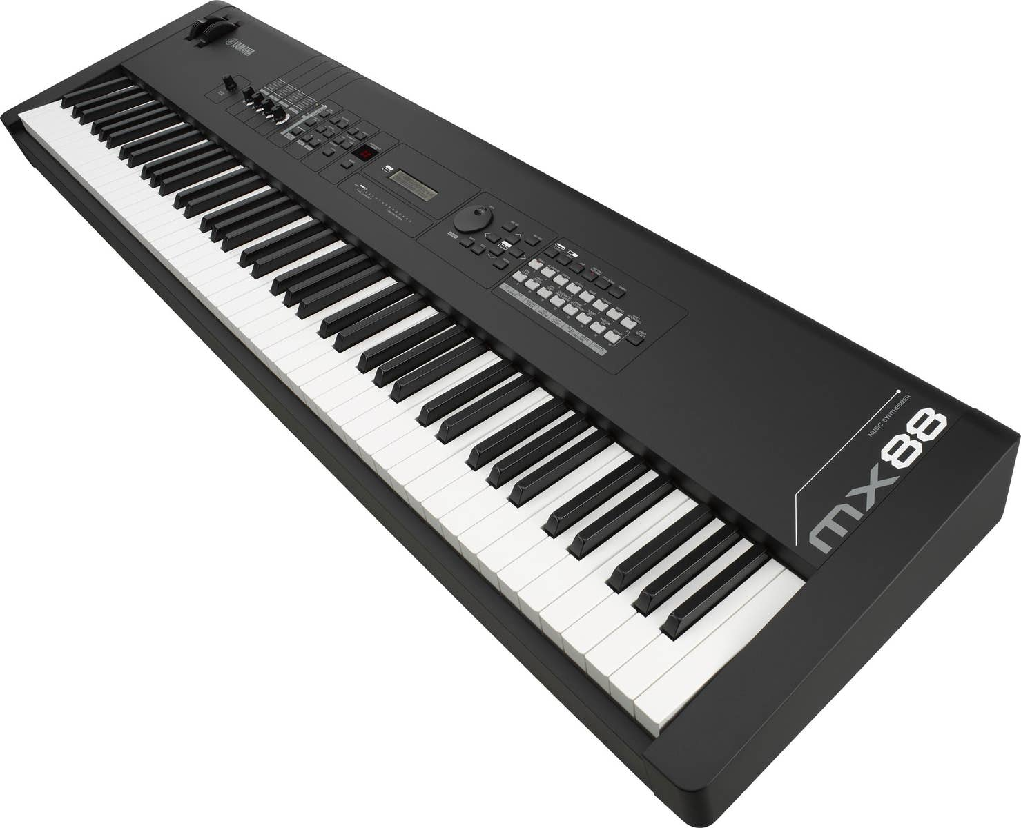 Yamaha MX88 BK 88-note Keyboard Synthesizer w/MOTIF sounds - Black