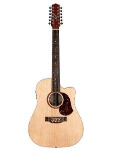 Maton SRS70C-12 Road Series Acoustic Electric Guitar - Natural Satin