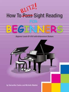 HOW TO BLITZ ROTE REPERTOIRE AND SIGHT READING PACK / COATES SAMANTHA (BLITZ BOOKS)