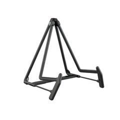 K&M Heli 2 Acoustic A-Frame Adjustable Guitar Stand - Black (KM 17580)