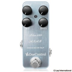 """One Control BJF Blue 360 """"Amp in a box"""" Bass Preamp Pedal"""