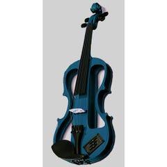 Carlo Giordano Electric Violin 4/4 Blue EV202CBL4/4
