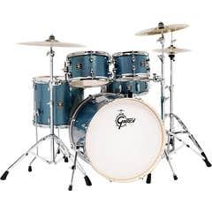 "Gretsch Drums Energy 22"" 5pc Drum Kit w/Hardware - Blue Sparkle"