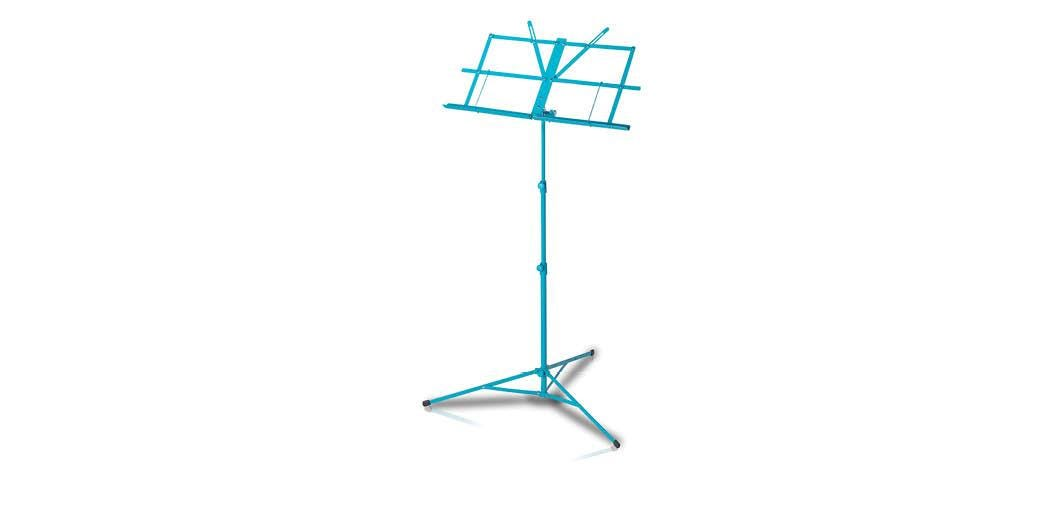 Armour lightweight foldable music stand with bag - BLUE (MS3127B)