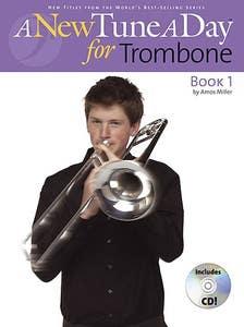 tune a day trombone BK 1 new ed BK/CD / MILLER AMOS (BOSTON)