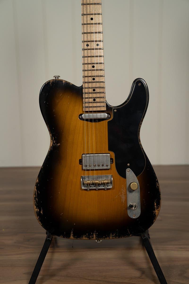 Luxxtone Guitars T-Luxx  w/Case - Aged 2-Tone Burst