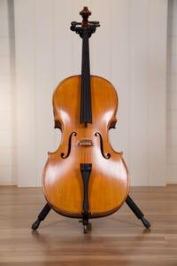 Gliga Vasile 4/4 Cello Outfit, Antique Oil Finish