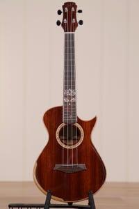 Maestro Island Series Tenor Ukulele w/Pickup and Case - Padauk (Cutaway Model)