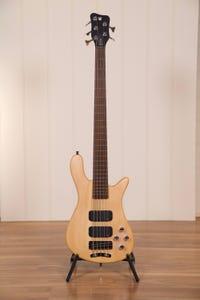 Warwick Rockbass Streamer STD 5-String Bass - Natural Transparent Satin