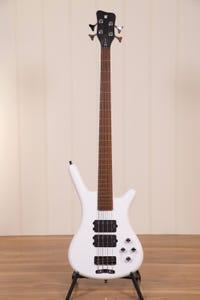 Warwick Rockbass Corvette $$ 4-String Bass - White Polish