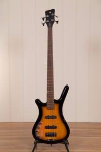 Warwick Rockbass Corvette Classic 4-String Bass - Almond Sunburst - Left Handed