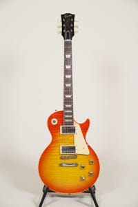 Gibson 60th Anniversary '60s Les Paul Standard V2 w/Case - Original Lemon Fade - One Only