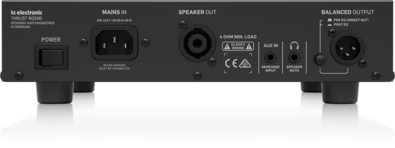 TC Electronic BQ500 Portable Bass Amp Head